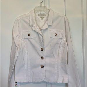 Tommy Hilfiger white jacket